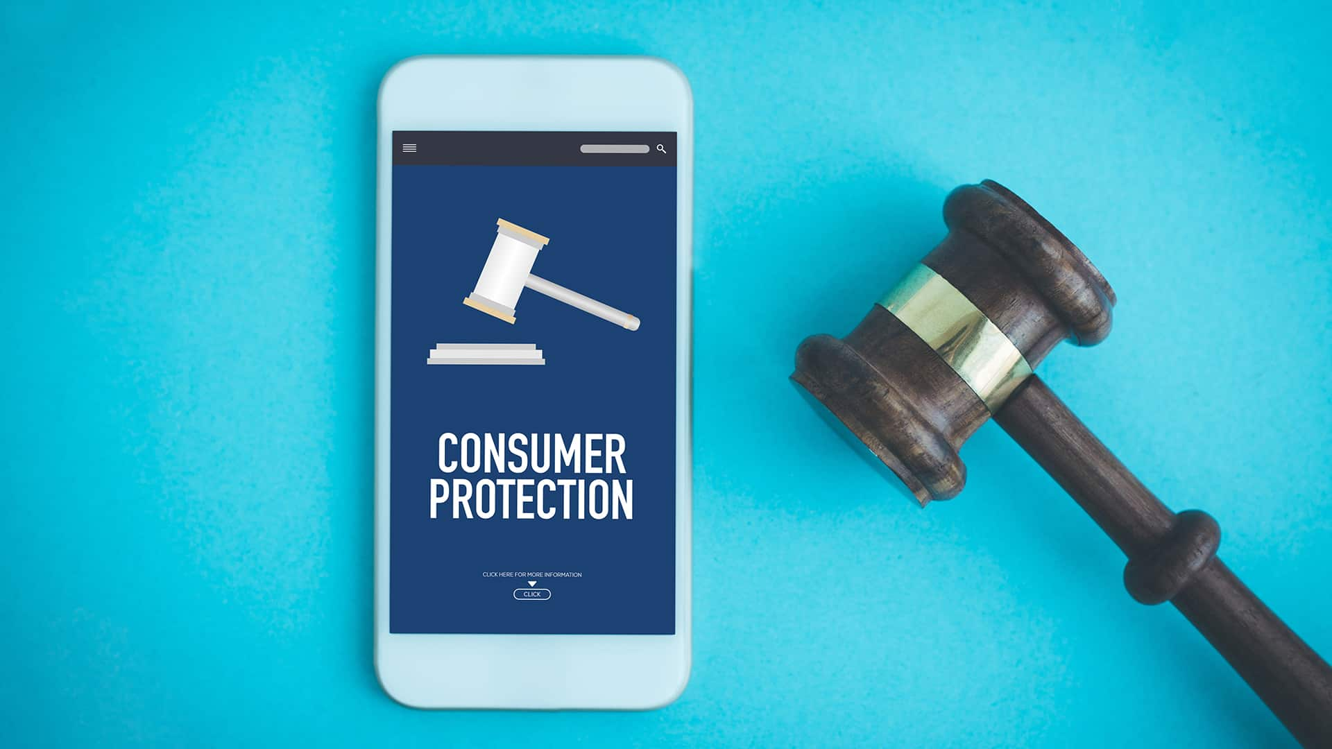 image depicting consumer protection