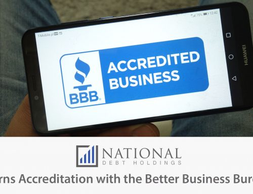 National Debt Holdings Earns Better Business Bureau Accreditation