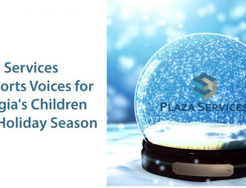 Plaza Services Supports Voices for Georgia's Children This Holiday Season