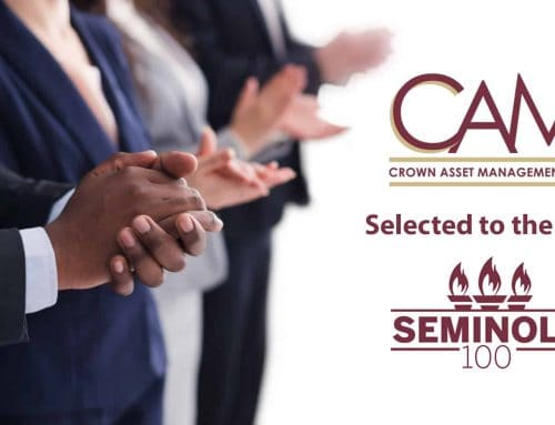 Crown Asset Management, LLC (CAM) announces their selection by the FSU College of Business to the 2021 Seminole 100