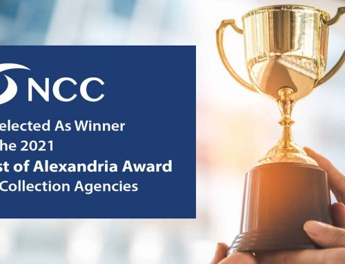 Nationwide Credit Corporation Selected As Winner of the 2021 Best of Alexandria Award for Collection Agencies