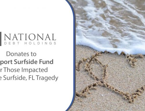 National Debt Holdings Donates to Support Surfside Fund for Those Impacted by the Surfside, FL Tragedy