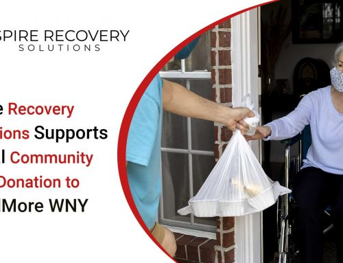 Spire Recovery Solutions Supports Local Community with Donation to FeedMore WNY