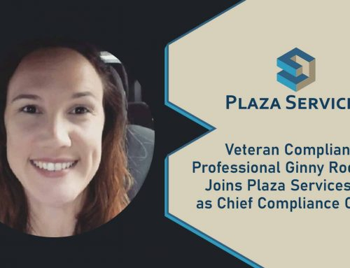 Veteran Compliance Professional Ginny Rodriguez Joins Plaza Services, LLC as Chief Compliance Officer